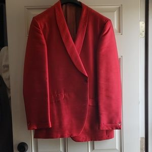 After 6 red blazer western embroidered by Rudofker